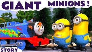 Minions Giant Compilation of Toy Stories for Kids with Thomas and Friends Play-doh and Cars TT4U
