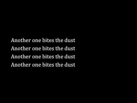 Another One Bites the Dust by Queen - Lyrics & Chords