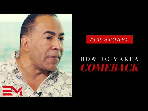 Tim Storey Interview: How To Make A Comeback