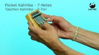 Pocket Kalimba - 7 Notes