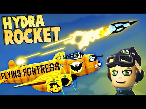 Hydra ROCKET ACE Battle!  (Bomber Crew Gameplay - Operation Hydra)