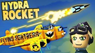 Hydra ROCKET ACE Battle!  (Bomber Crew Gameplay - Operation Hydra)