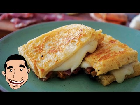 Italian Grilled Cheese Sandwich Recipe, Ultimate Fried Cheese Sandwich | HuffPost Life
