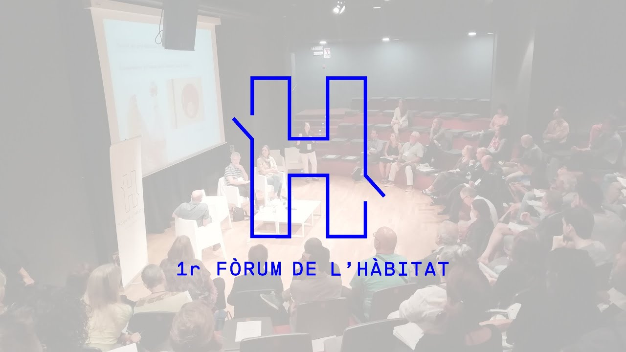Presentació del 1r Fòrum de l'hábitat
