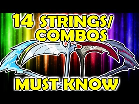 14 SCYTHE COMBOS/STRINGS YOU NEED TO KNOW - brawlhalla guide