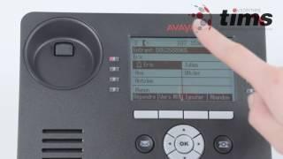 Gestion des appels   Avaya 9608