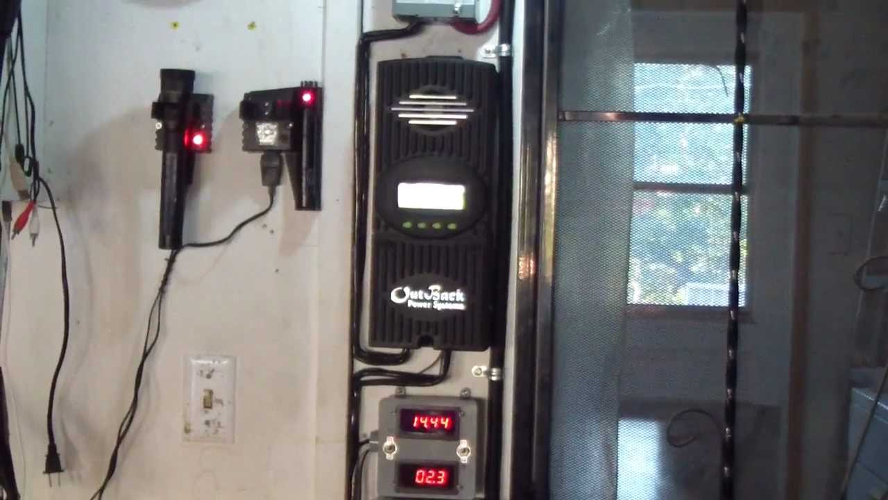 Solar Panel Charge Controller Wiring