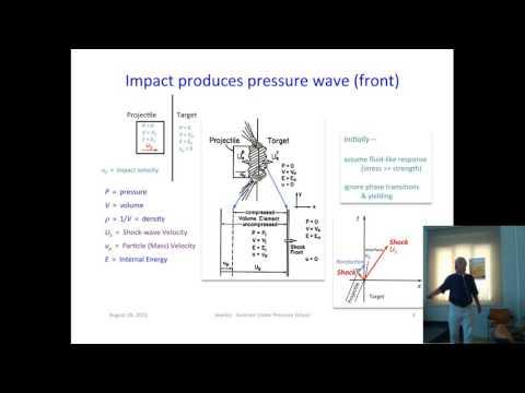 SUPS E6: R. Jeanloz - Dynamical Techniques