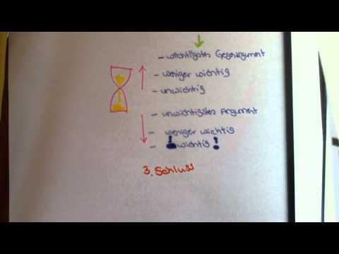 Dialektische Erörterung schreiben - Gliederung und Aufbau