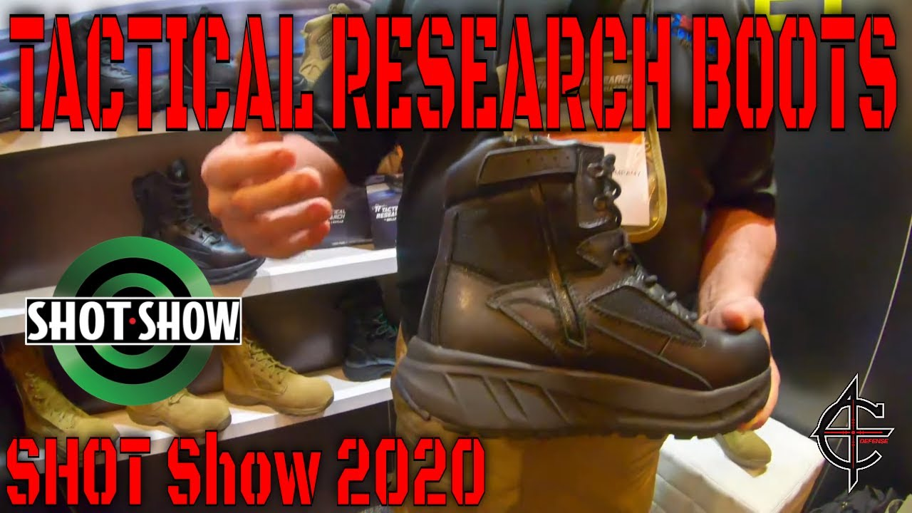 Tactical Research Boots SHOT Show 2020