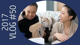 Vlog - Opening Christmas Gifts with Hubby