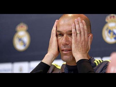 Rueda de Prensa Zidane tras la eliminación del Real Madrid Copa del Rey · Real Madrid 1-2 Leganés