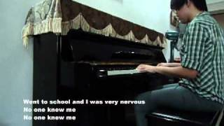 "Adam Lambert ""Mad World"" Piano Cover by Claire Low (GlambertPianist)"