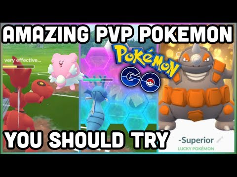 AMAZING POKEMON FOR PVP IN POKEMON GO | LOW ENERGY COST CHARGE MOVES thumbnail