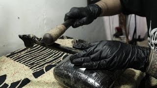 Traditional Tattoos (Part V) - How to Put Needle to Kalimantan Traditional Tools