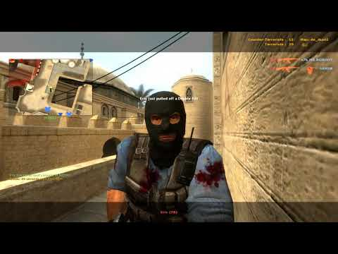 Counter-Strike: Source  | Two Person | Play On Server #10 | PC 1080P 60FPS