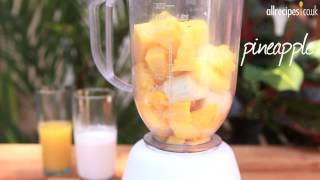 Tropical Fruit Smoothie Recipe - Allrecipes.co.uk