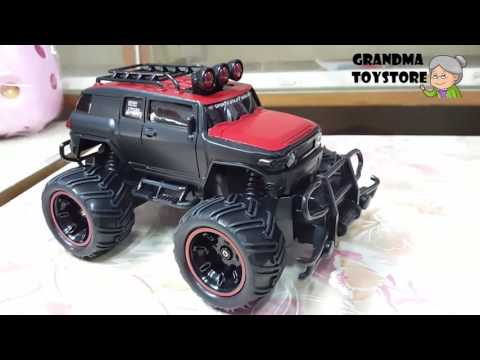 unboxing-toys-review/demos---part-1-off-road-passion-4x4-big-wheel-jeep-remote-control-race-car