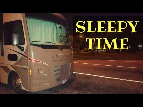 Sleeping At A Rest Area Rv Full Time