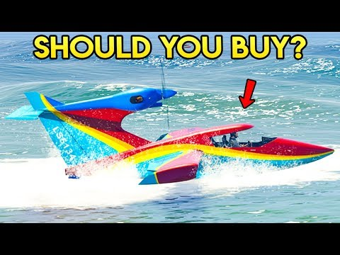 GTA Online SEABREEZE REVIEW! - Should You Spend $1,000,000 on It?