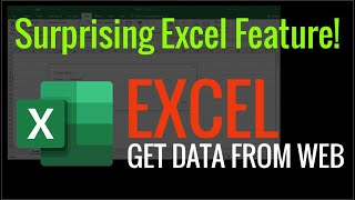 Excel - Get Data from Web