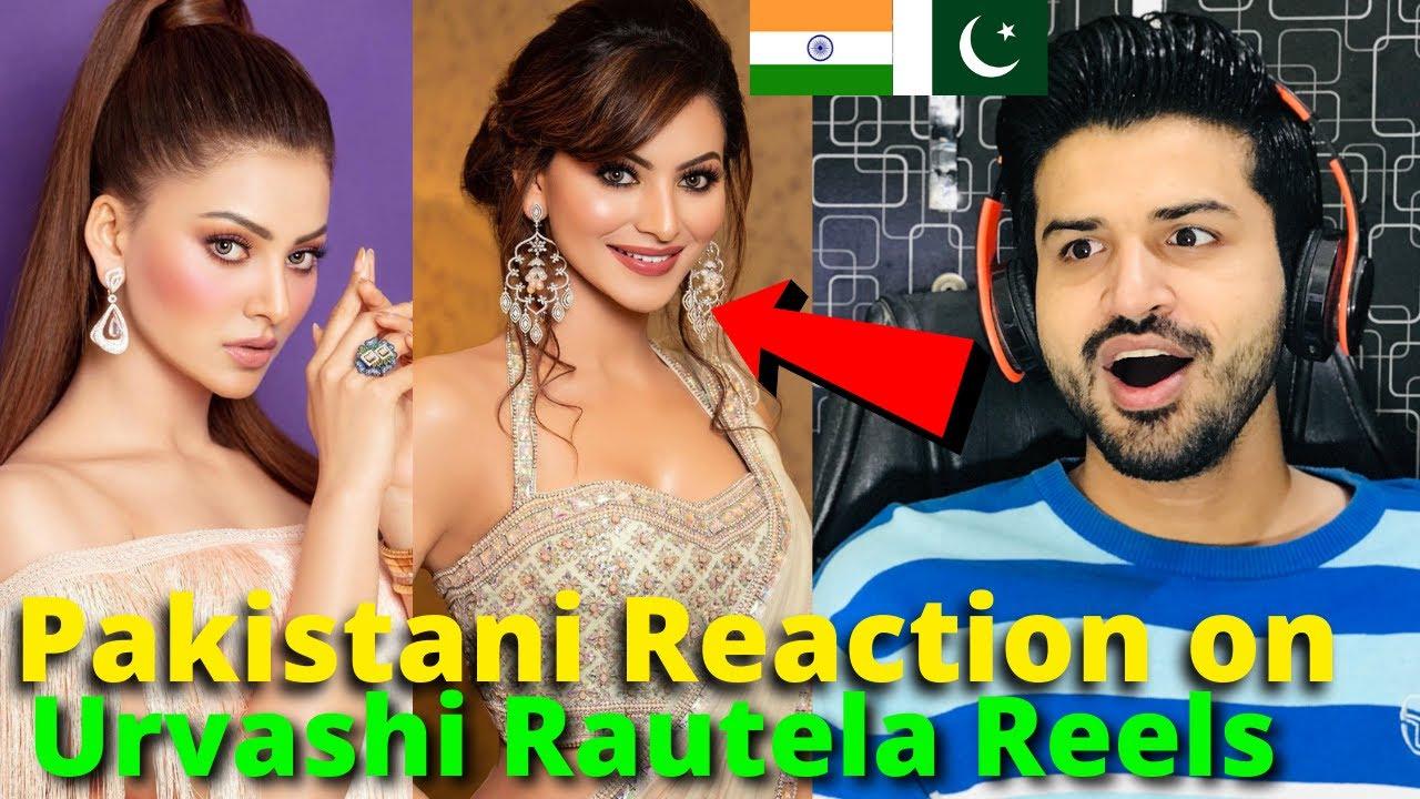 Pakistani React on Urvashi Rautela REELS VIDEOS | Miss Universe | Reaction Vlogger