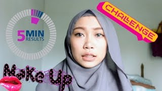 5 MINUTE MAKE UP CHALLENGE! | Atami Puspa