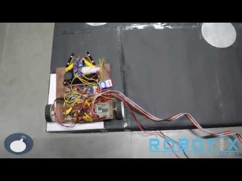 Video Tutorial | Minefield | Semi-Autonomous Event | Robotix 2015