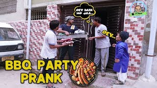 | BBQ Party Prank | By Ahmed & Rizwan And Farukh In | P4 Pakao | 2019