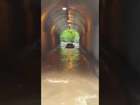 В Подмосковье затопило тоннель, соединяющий Балашиху и Железнодорожный