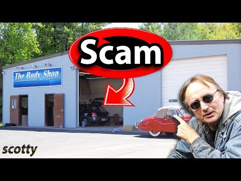 How To Spot A Scam Auto Body Shop