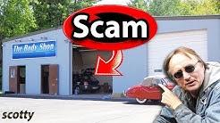 How to Spot a Scam Auto Body Shop