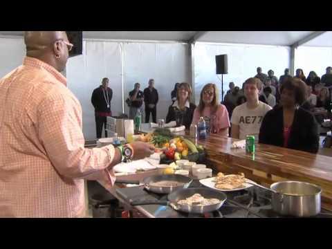 Fresh Gulf seafood highlighted during Senior Bowl