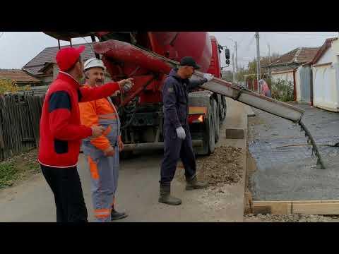 Lucrari preluare ape pluviale si acces gospodarii. Caldararu, Cernica. (1/3)