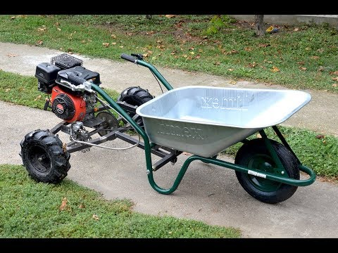 Homemade 200cc WHEELBARROW