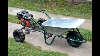 Homemade 200cc WHEELBARROW  !?  PART 1 thumbnail