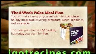 The Paleo Recipe Book - 150+ Great Recipes For The Paleo Diet!