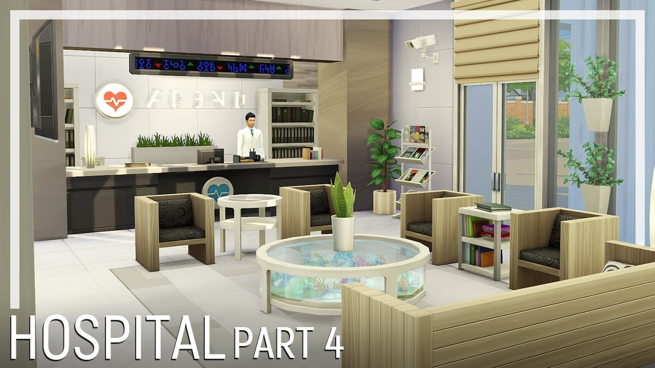 sims 4 how to build and make a hospital work