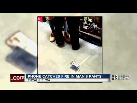 Phone catches fire in man's pants at Washington Costco