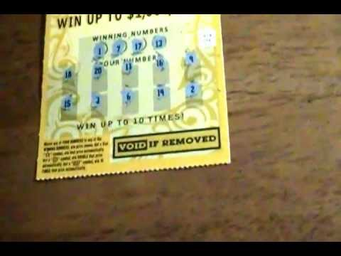 massachusetts lottery gold scratch ticket youtube. Black Bedroom Furniture Sets. Home Design Ideas