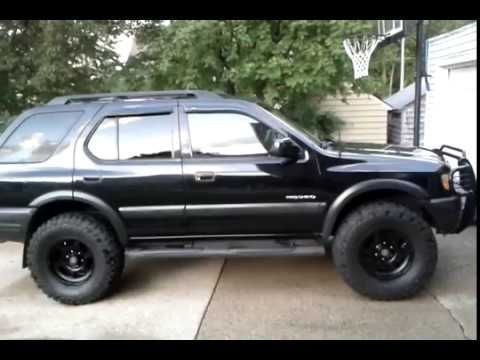 Lifted 2002 Isuzu Rodeo Youtube