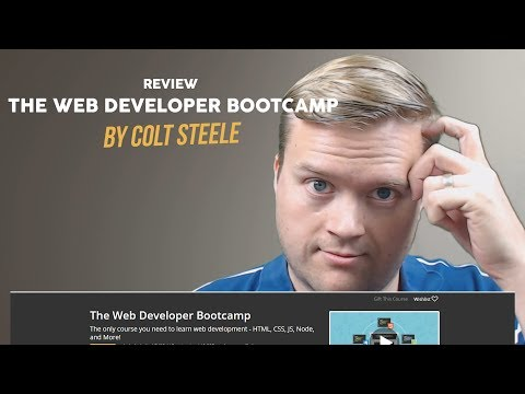 Should You Buy The Web Developer Bootcamp by Colt Steele?