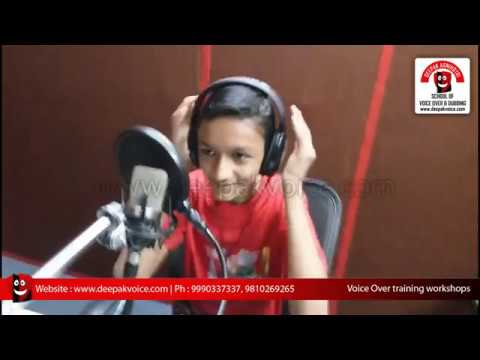 Cartoon Film Dubbing Voice Over Training Classes For Aspiring Voice Artists Delhi