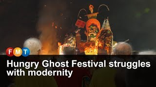 Hungry Ghost Festival struggles with modernity