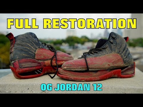 Thumbnail: OG JORDAN 12 FULL RESTORATION!! (FOUND IN TRASH)