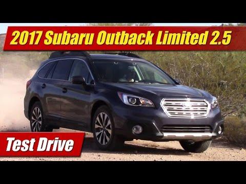 2017 Subaru Outback Limited 2.5: Test Drive