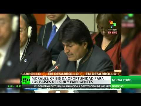 Bolivia asume la presidencia del grupo de 77 países emergentes más China