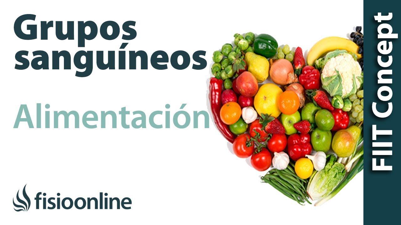Nutrición Según Los Grupos Sanguíneos Youtube