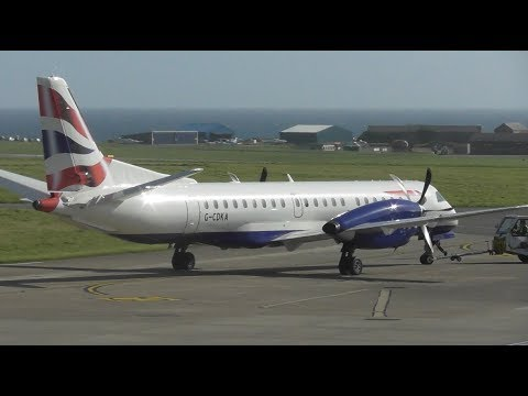 Planes at the Isle of Man Airport, IOM | 29-09-17