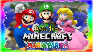 Here we go again! Minceraft Mario Party mit Jan!